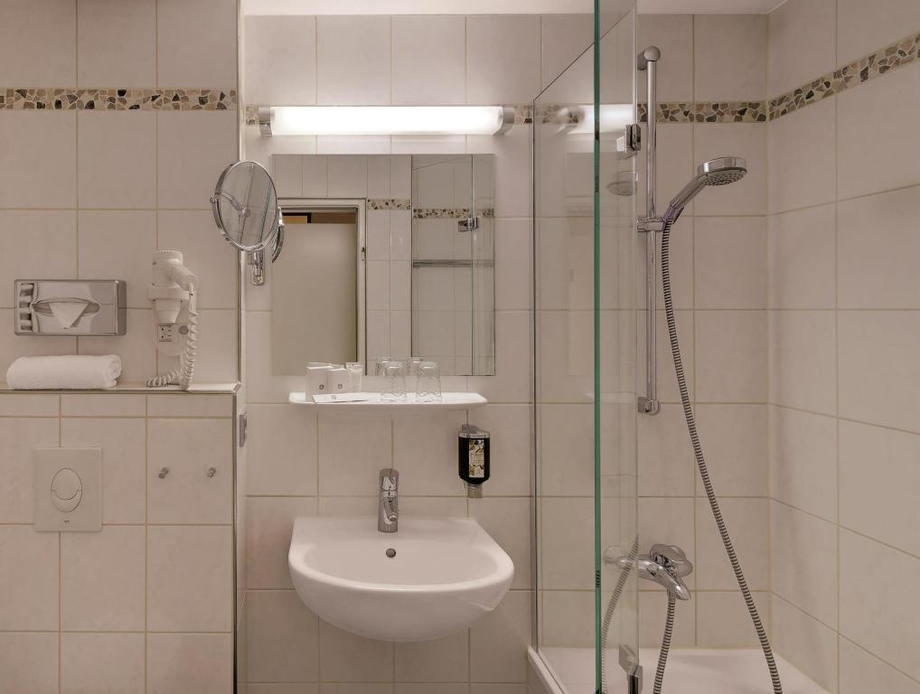 Bathroom Best Western Hotel Darmstadt