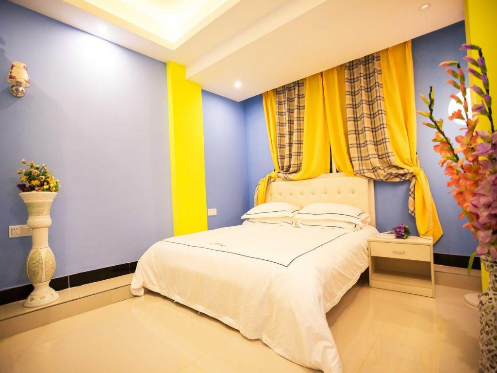 Queen-size seng - Seng Xiamen Impression Theme Space Inn