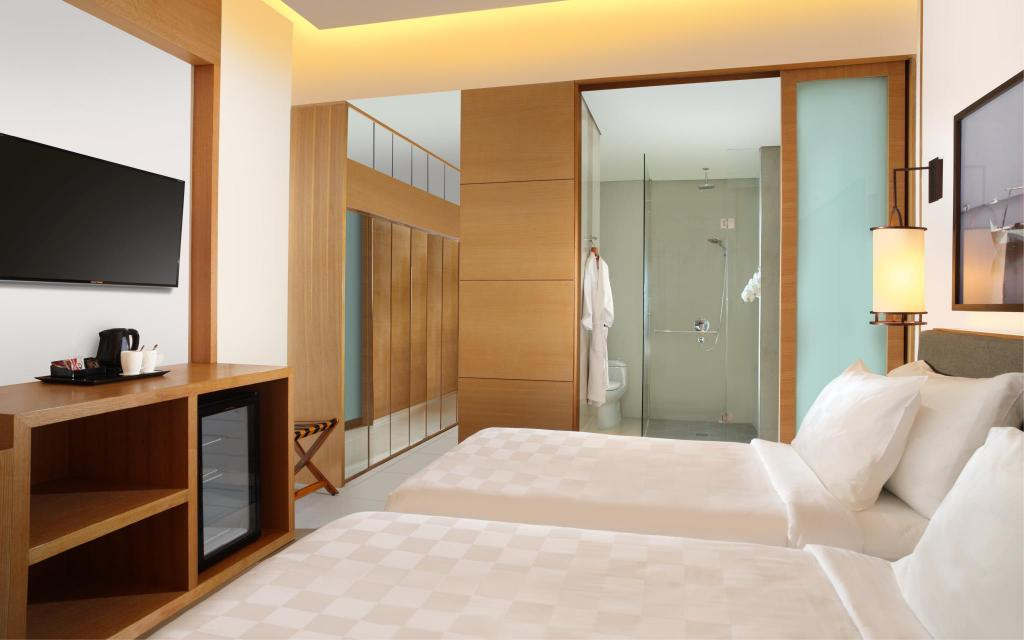 Signature Deluxe Twin City View Resinda Hotel Karawang