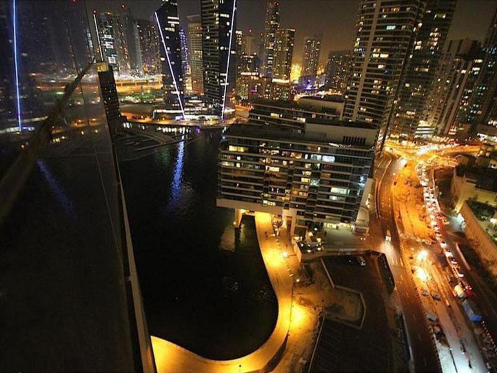 Widok z lotu ptaka Dubai Apartments - Bay Central Amazing Studio In Dubai Marina