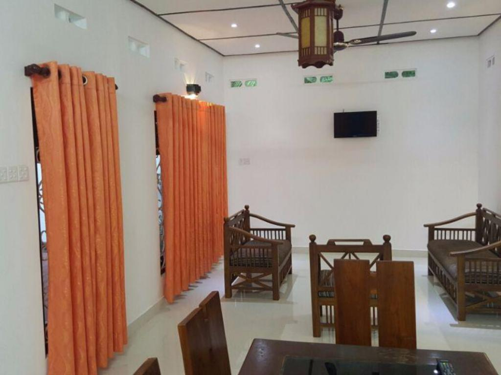 Hotellet indefra Ugan Luxury Bungalow