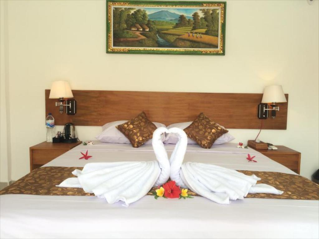 Hotellet indefra Chillhouse Lembongan Homestay