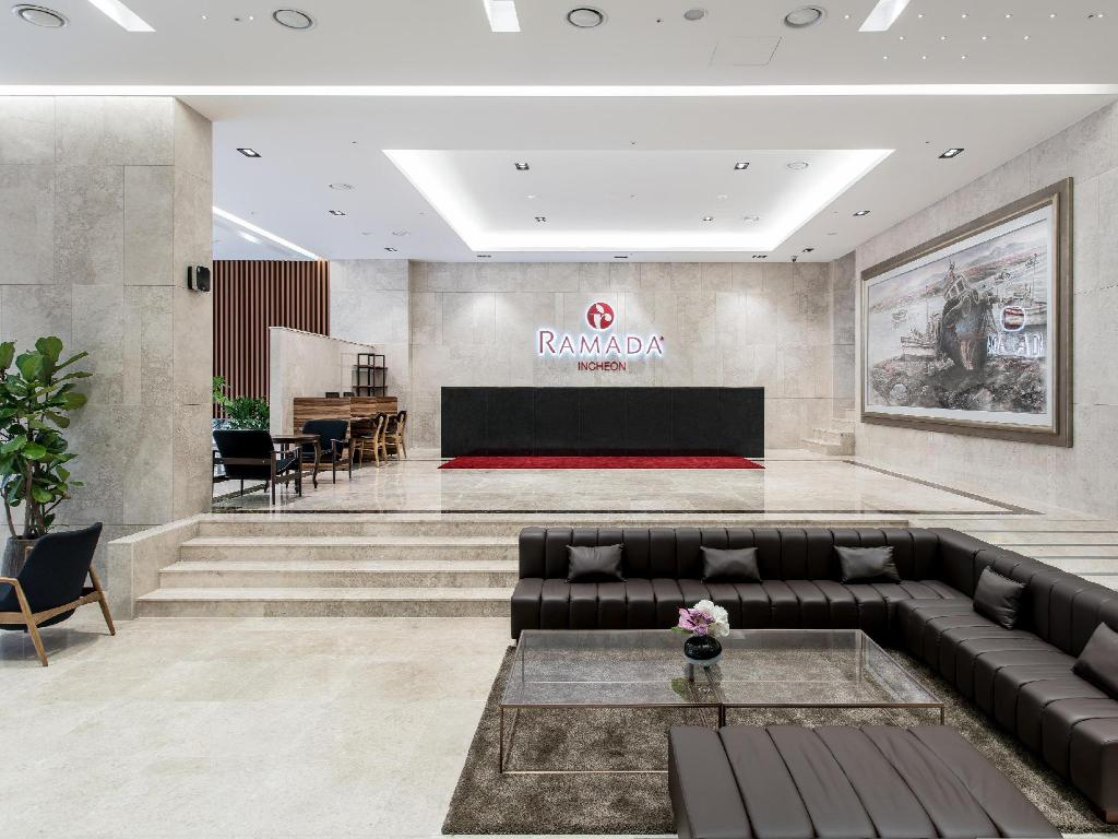 Lobby Ramada Incheon Hotel