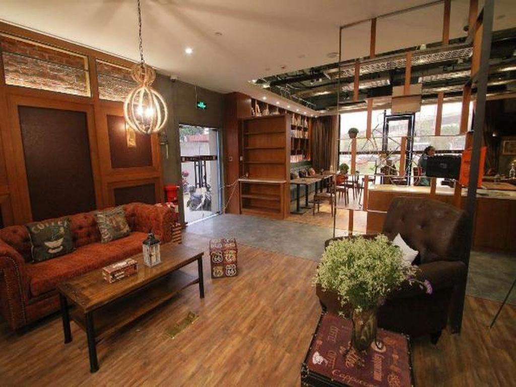 Foyer James Joyce Coffetel Shanghai Zhangjiang Branch