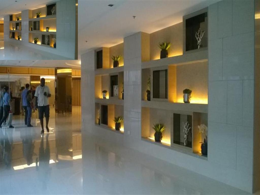 Lobby FilNaija at Shell Residences