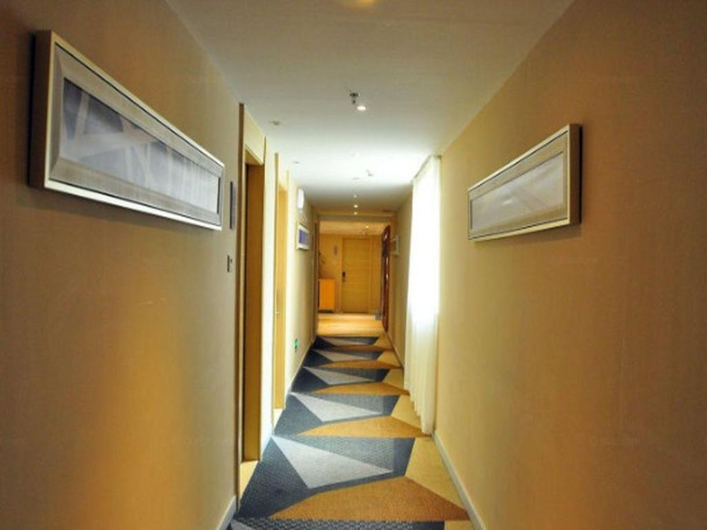 Hotellet indefra City Comfort Inn Guangzhou Sanyuanli Metro Station Branch