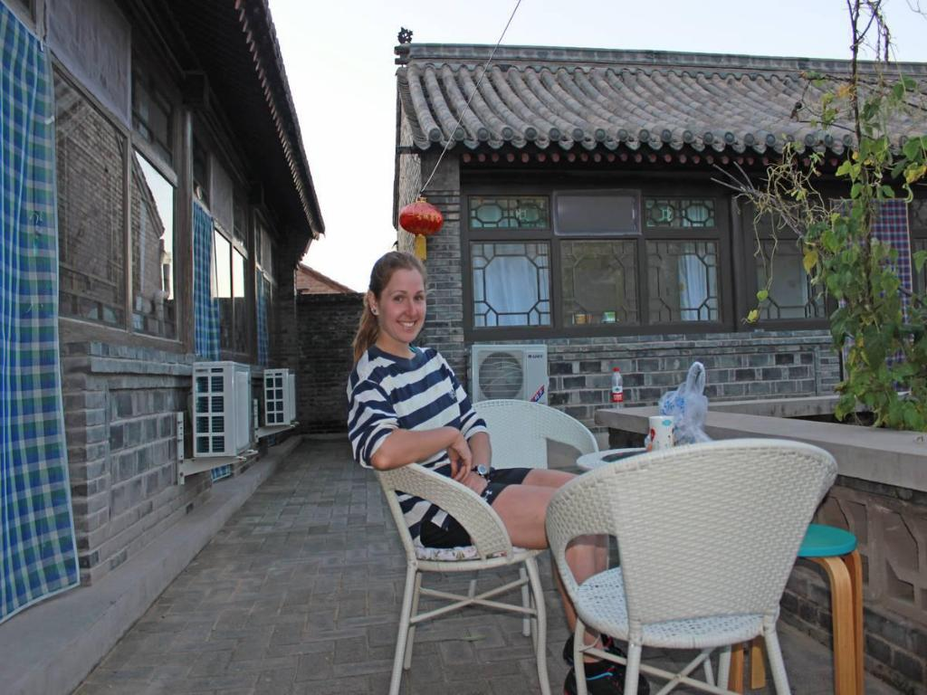 Interior view Beijing Badaling Great Wall Cao Courtyard Hostel