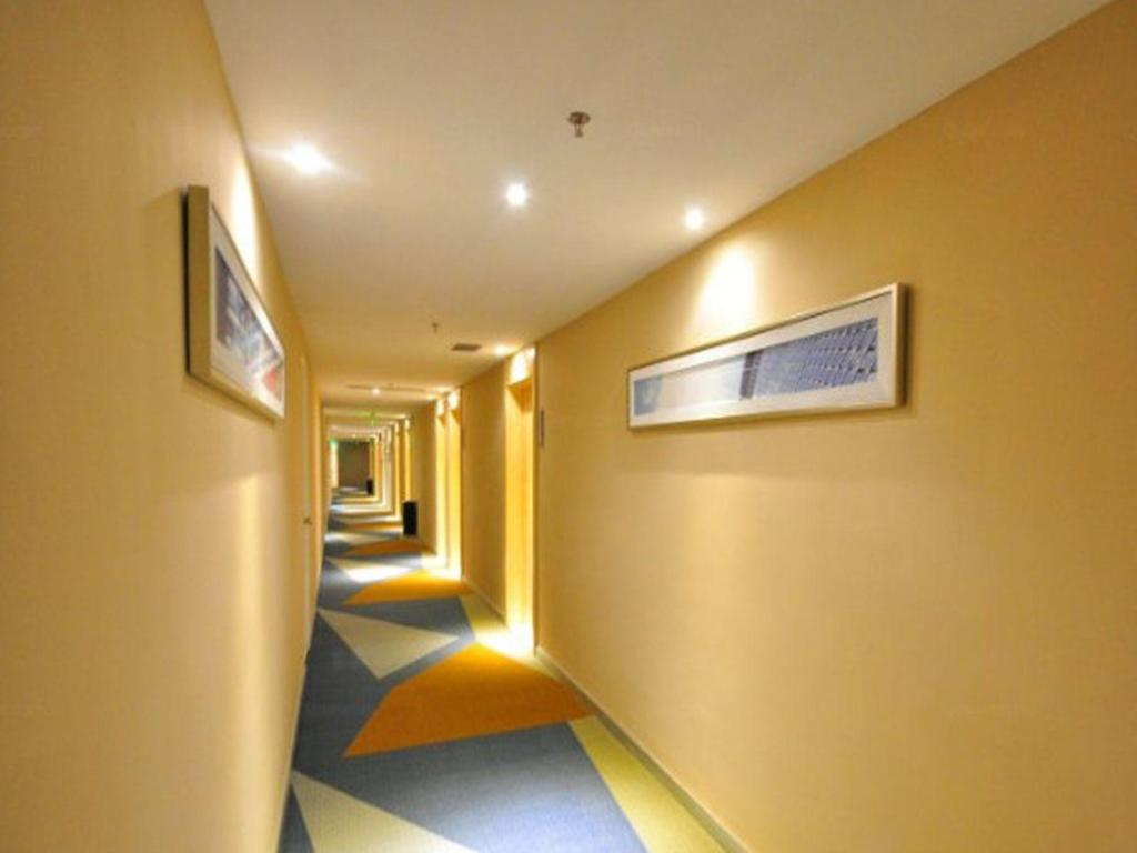 Hotellet indefra City Comfort Inn Guangzhou South Railway Station Branch