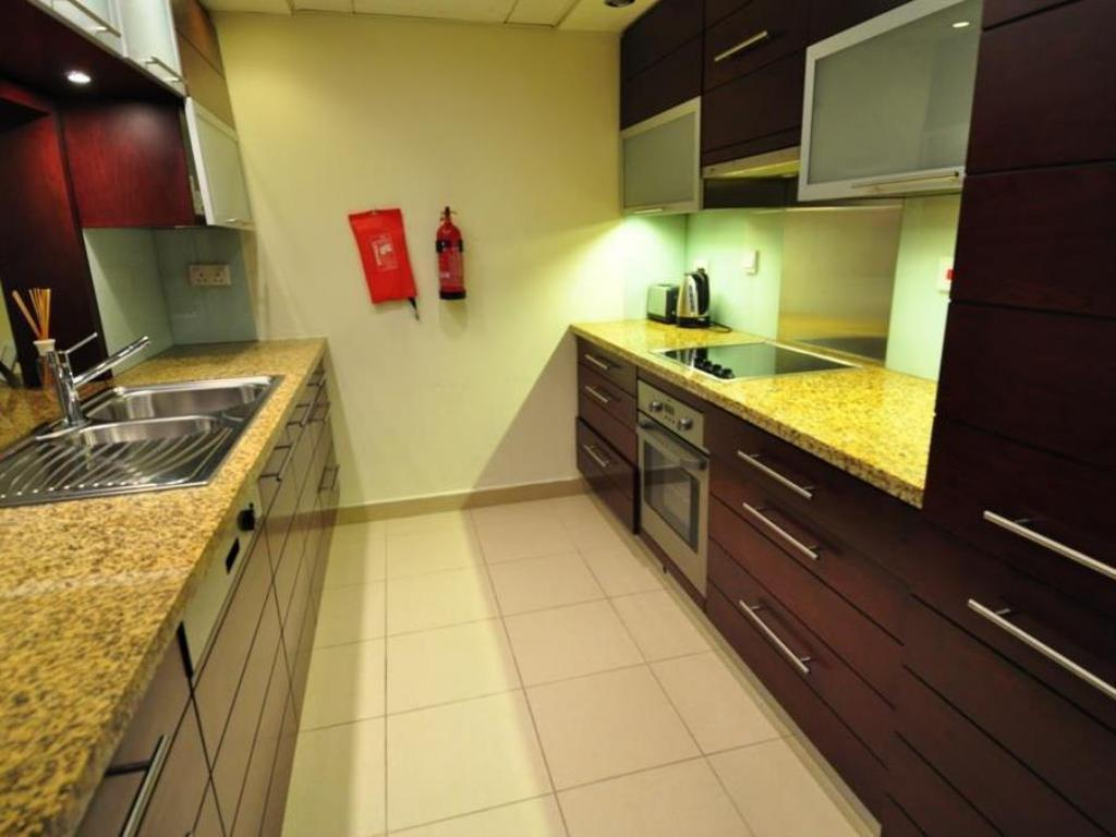 Apartament typu Studio - Kuchnia Dubai Stay- Burj Views Podium