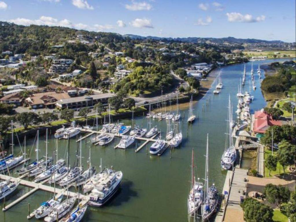 Standard Double Room - Aerial view Distinction Whangarei Hotels and Conference Centre