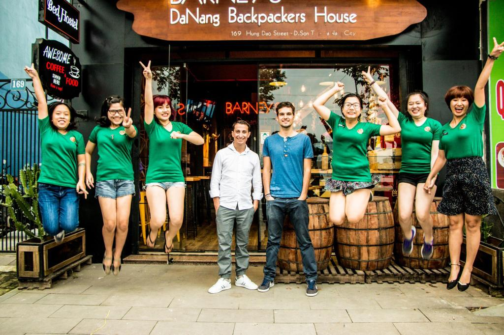 Vestíbul Barney's Danang Backpackers House