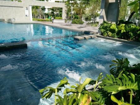 Piscina Penang Skypark Holiday Home