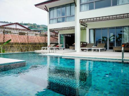 utomhuspool PP Princess Pool Villa
