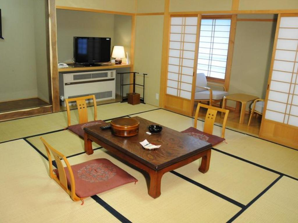 Interior view Onsen Yupopo