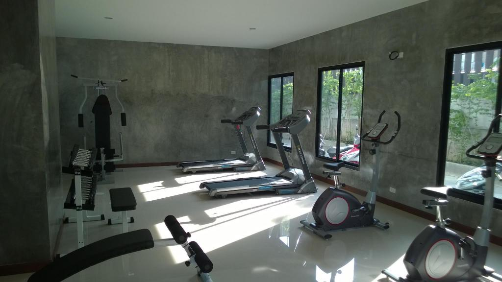 Fitness center The Restique Apartment