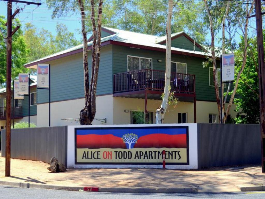 Exterior view Alice on Todd Apartments