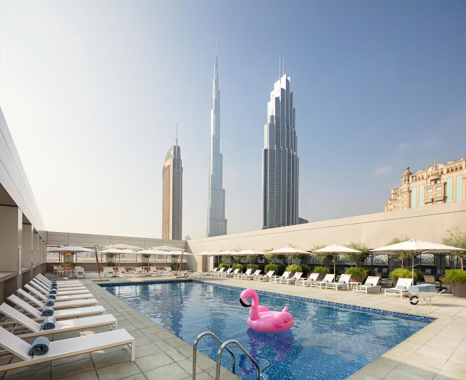 Best price on hotel rove downtown in dubai united arab for Emirates hotel dubai