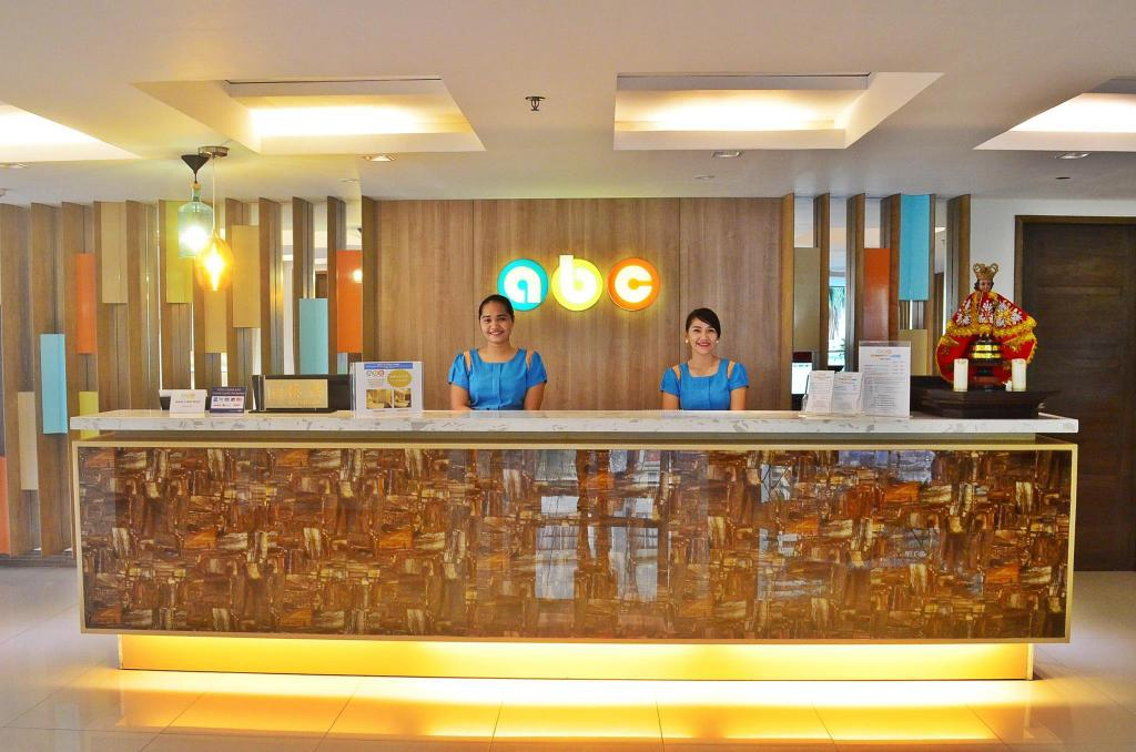 Reception ABC Hotel Cebu