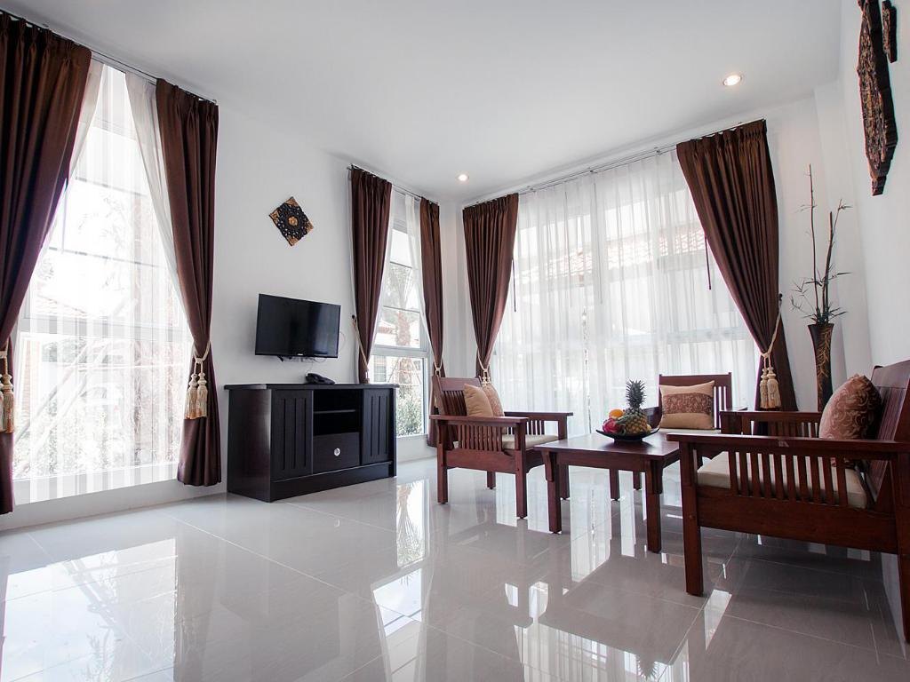 Tampilan interior Lux Family Villas