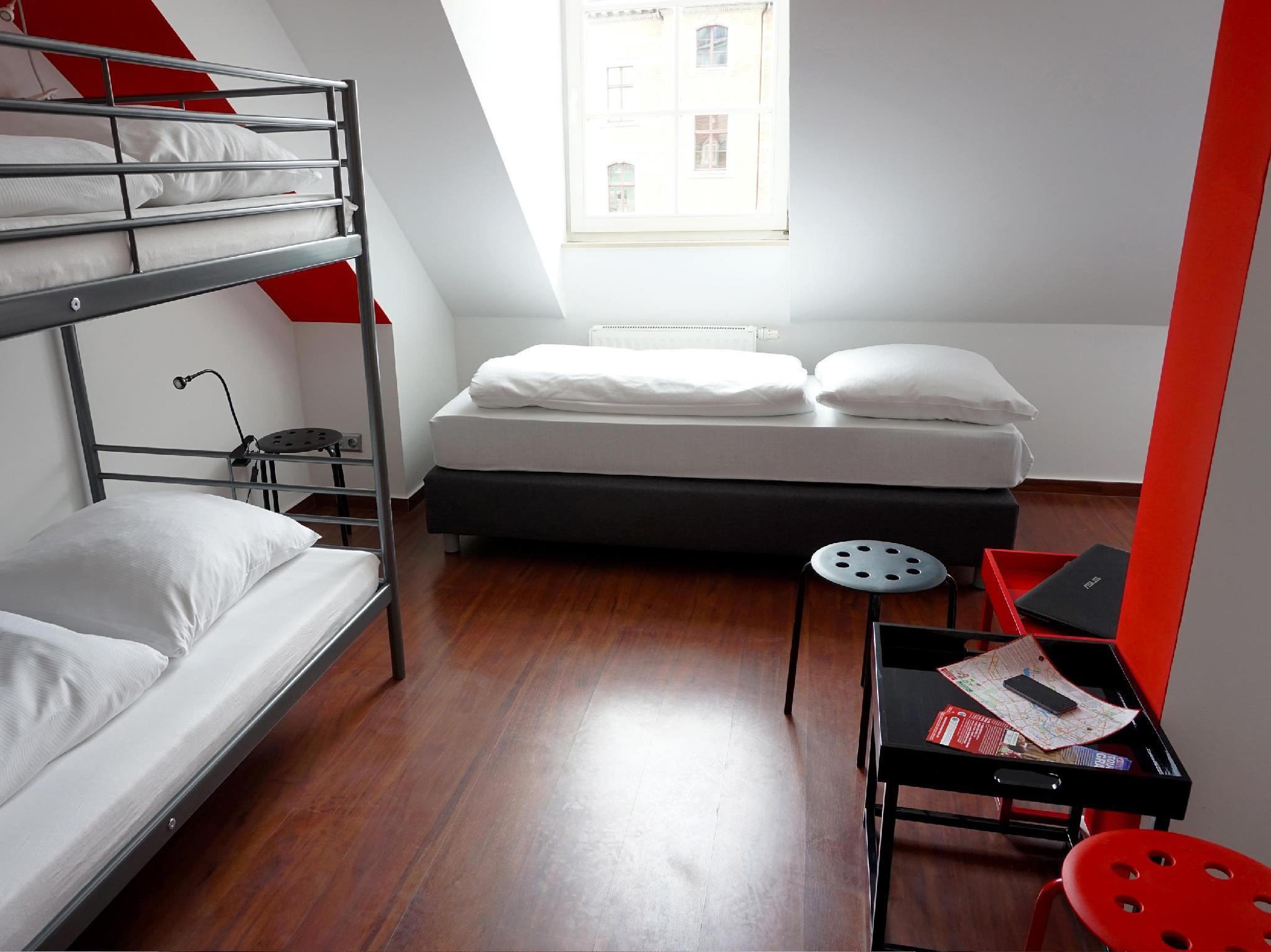 1 Bett in 5-Bett gemischtem Schlafsaal mit Privatem Bad (1 Bed in 5-Bed Dormitory (Mixed) with Private Bathroom)
