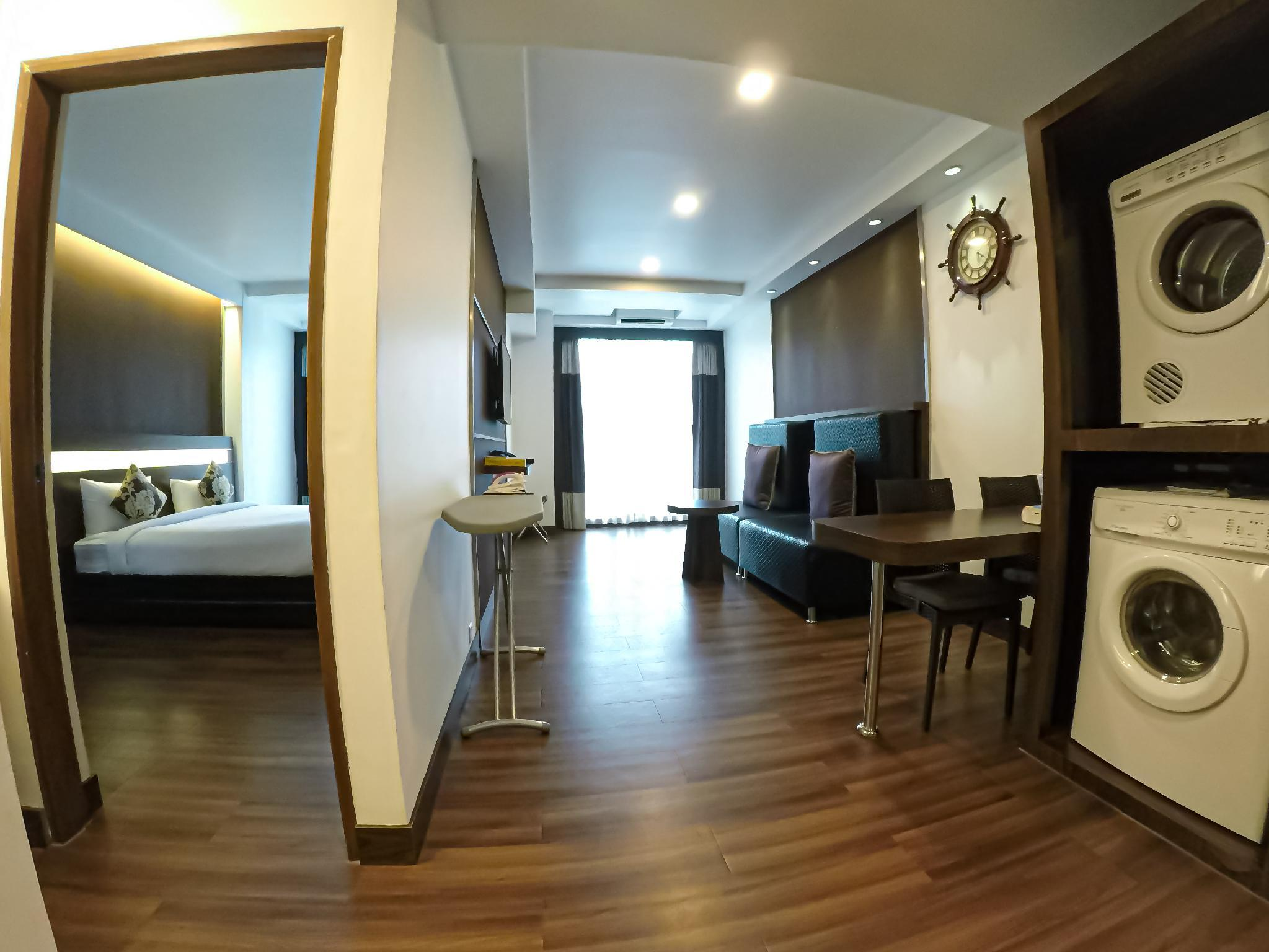 1-Bedroom Serviced Apartment