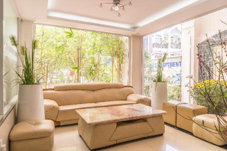 Вход Kelly Serviced Apartment Thao Dien