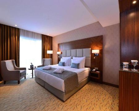 1 Double Bed Suite, No Smoking - Guestroom Clarion Hotel Istanbul Mahmutbey