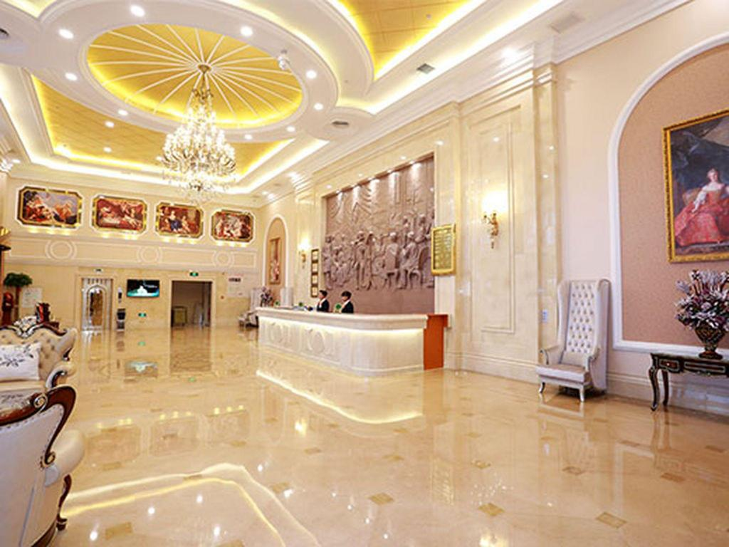 Empfangshalle Vienna International Hotel Ningbo Huancheng South Road Branch