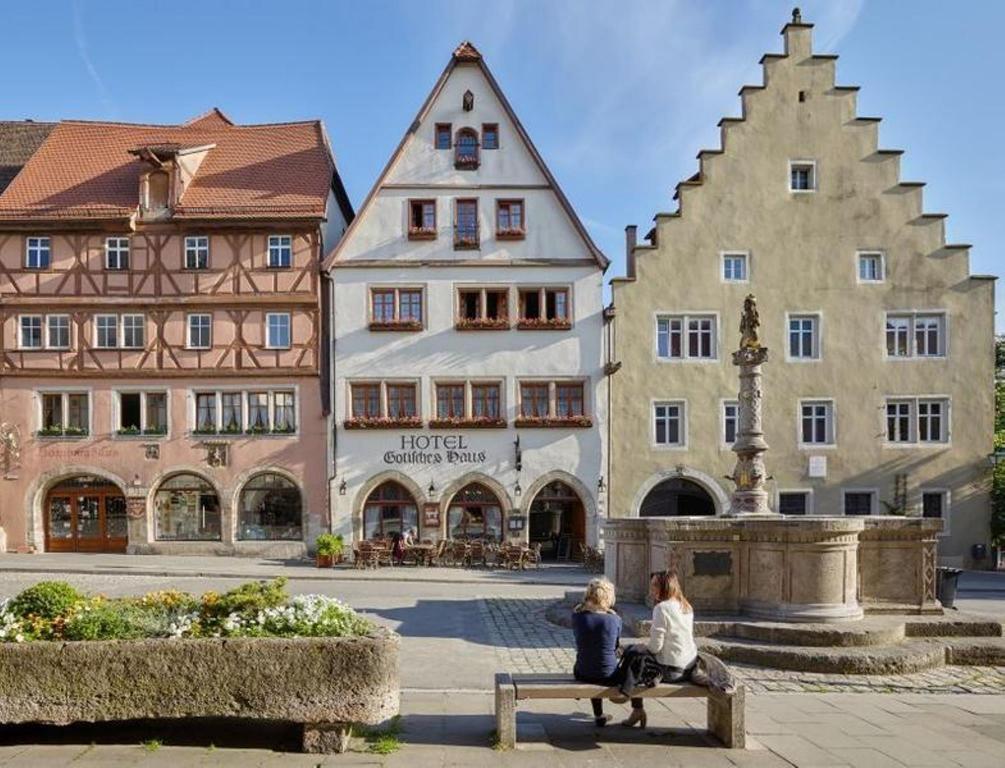 Historik Hotel Gotisches Haus Garni in Rothenburg Ob Der