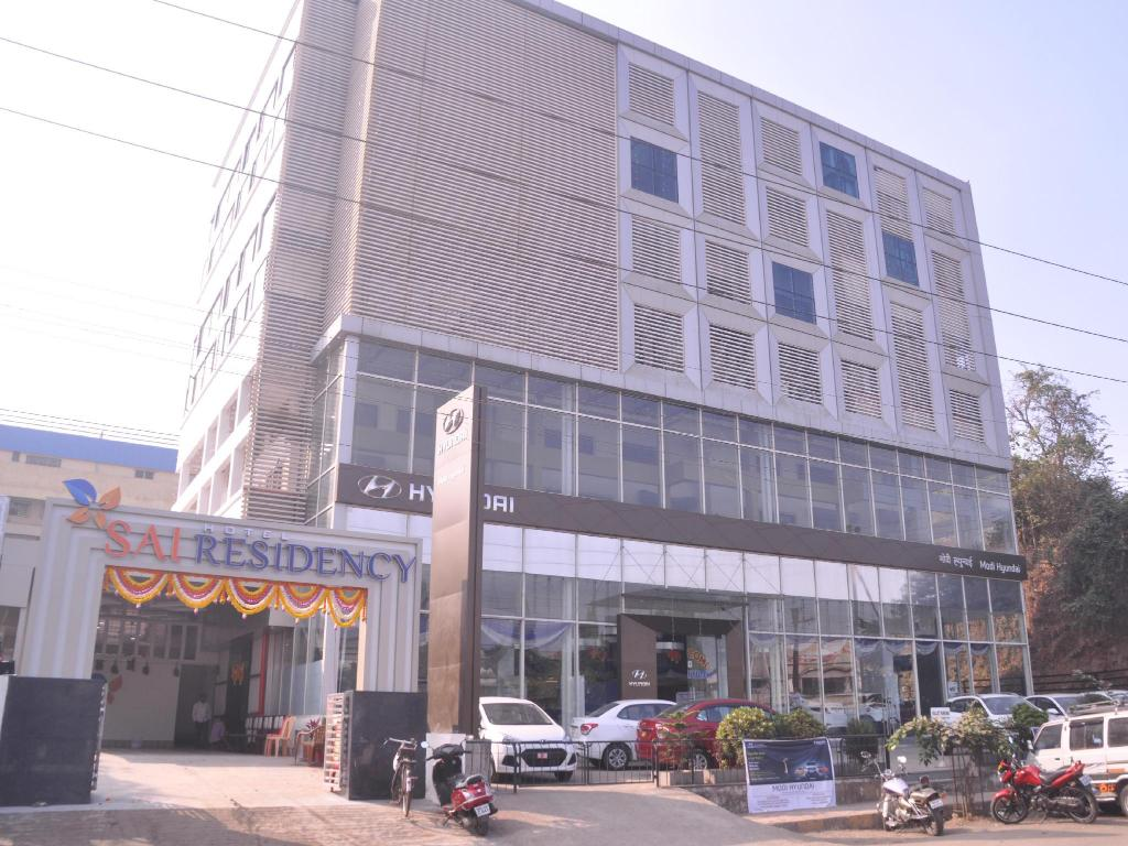 Exterior view Hotel Sai Residency