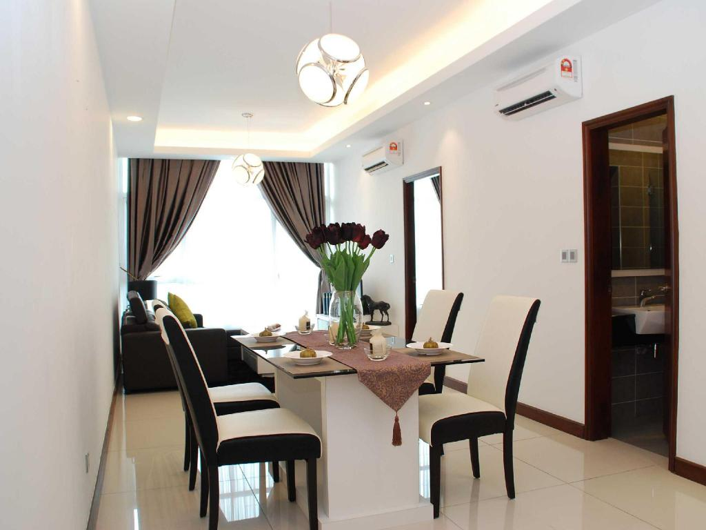 Hotellet indefra JB City Paragon Serviced Apartment @ Strait View