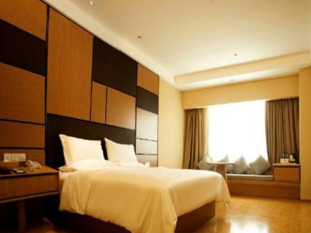 Кинг стая JI Hotel Haining Haichang South Road Leather City Branch
