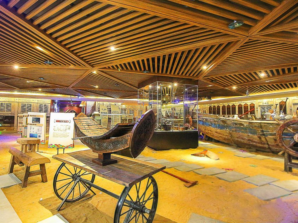 Lobby Haikou Huangma Holiday South Seas Museum Hotel