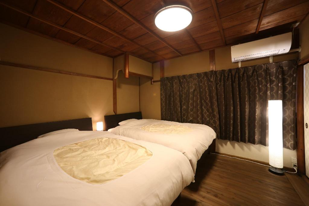 Machiya Traditional Townhouse for 5 People - Bed Kyoto Nijo Ohan