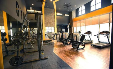 Fitnesscenter Sunny Tropical Apartment Hotel