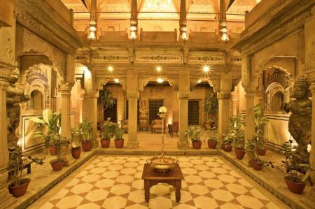 Interior view BrijRama Palace - A Heritage Hotel