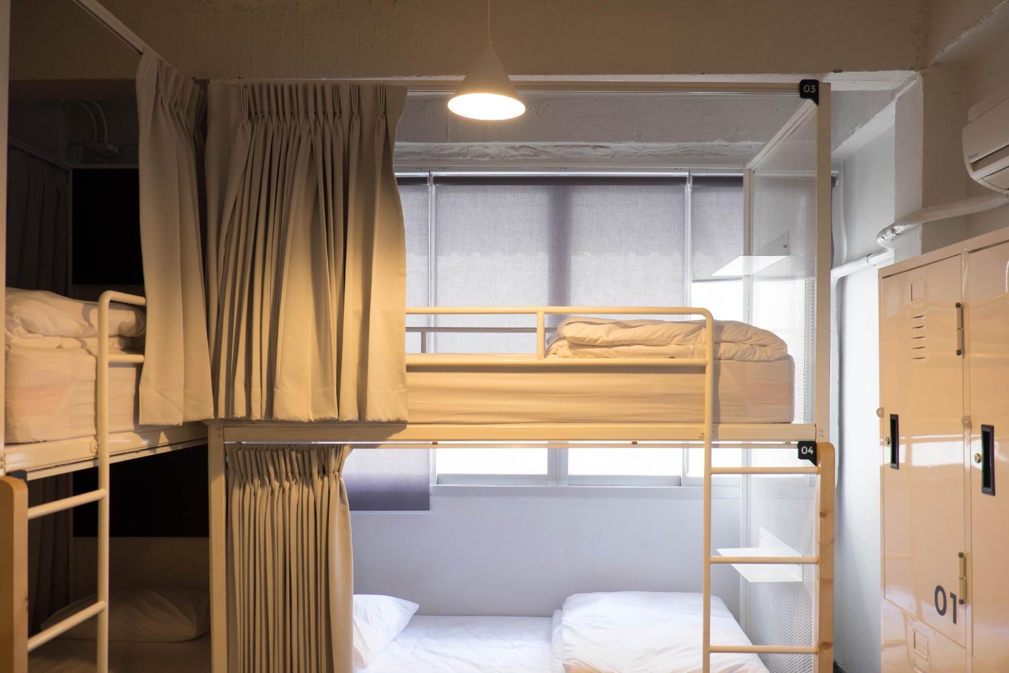 Køjeseng på blandet sovesal med 4 senge (Bunk Bed in 4-Bed Mixed Dormitory Room)