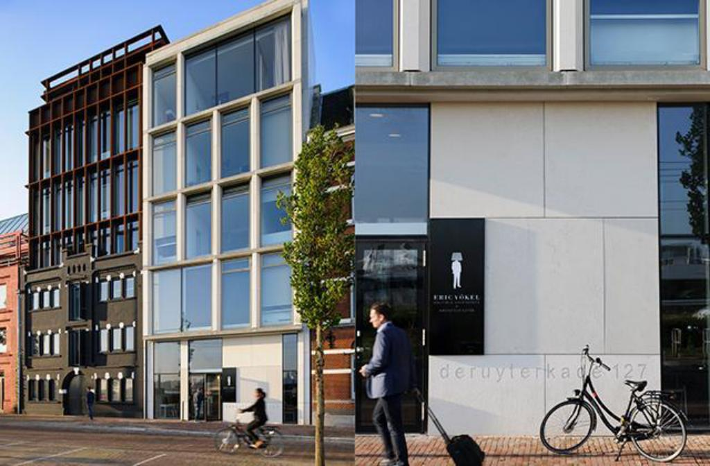 Exterior view Eric Vökel Boutique Apartments - Amsterdam Suites