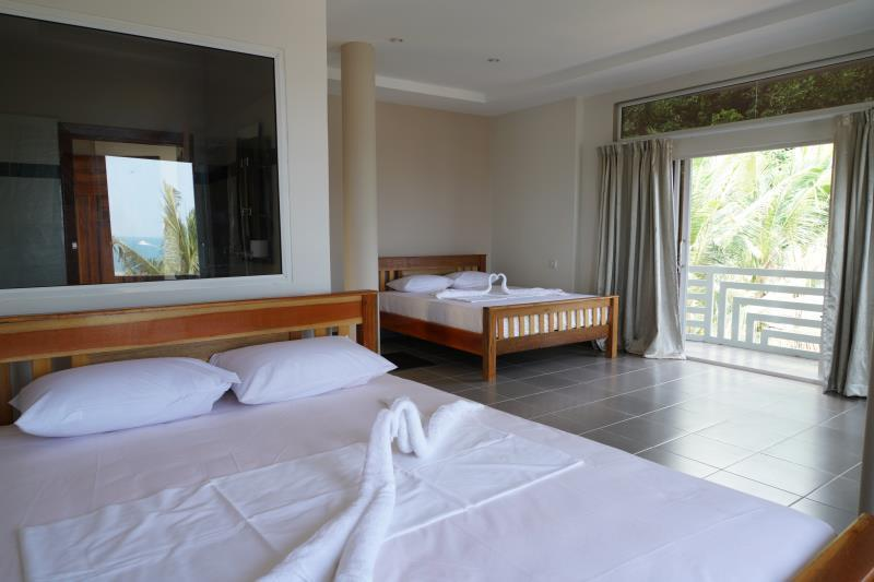 Sea View Suite with two beds