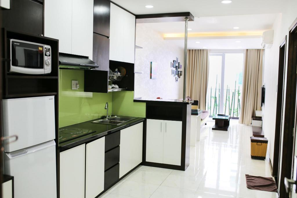 Apartment with Balcony Gold Ocean Apartments Nha Trang