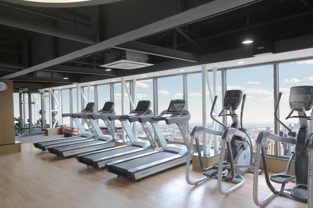 Fitness center Green Court Residence Jinqiao Diamond Shanghai