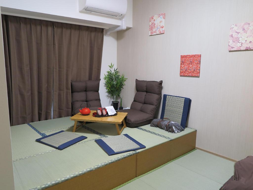 Interior view Kyoto Style 1 Bdr Suite near Nihonbashi