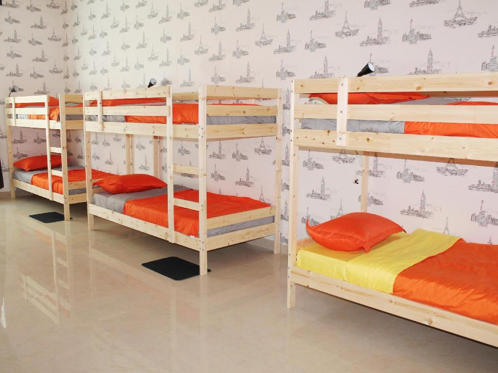 Single Bed in Male Dormitory
