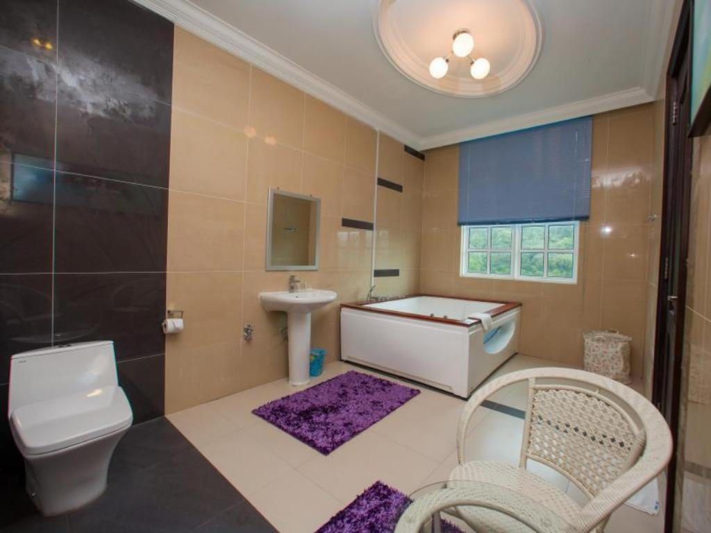 Bathroom Smurf Inn Homestay