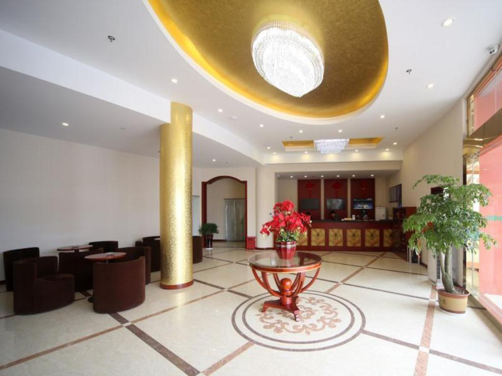 Лобби GreenTree Inn Jiangsu Nanjing Lishui Country Qinhuai Avenue Qingnian Road Business Hotel