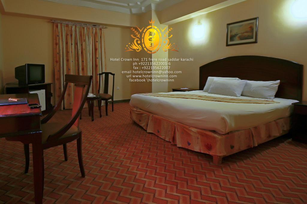Hotellet indefra Hotel Crown Inn
