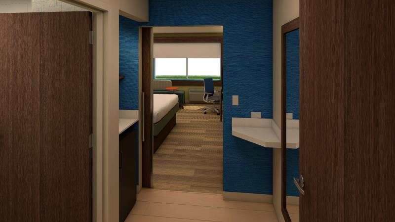 Suite 2 Bed Hearing Accessible Tub Non-Smoking