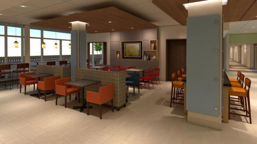 Restaurante Holiday Inn Express & Suites Lincoln I - 80