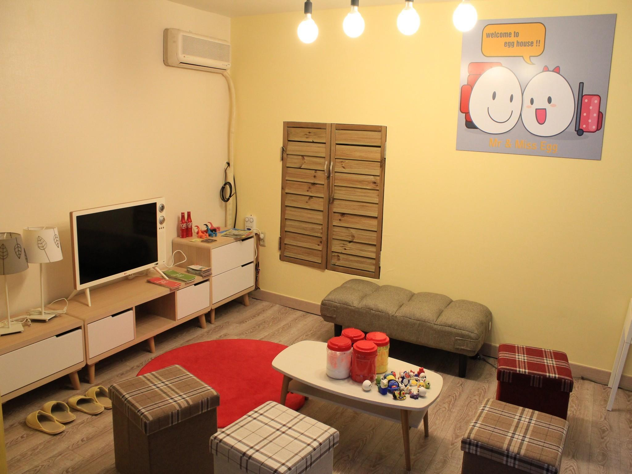 Quarto Familiar com casa de banho partilhada (Family Room with Shared Bathroom)