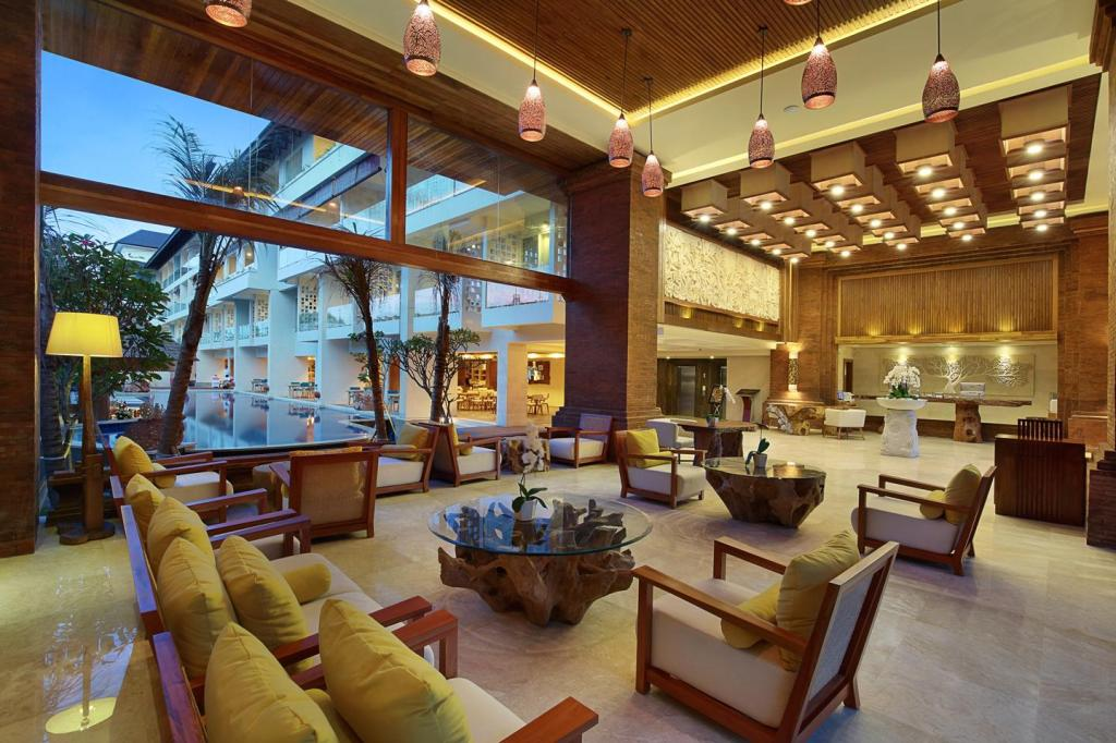 Лобби Jimbaran Bay Beach Resort & Spa by Prabhu